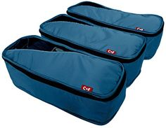 CF Slim Packing Cubes  Fits Jeans and Jackets  Lightweight Travel Packing Cubes Set  Value Set for Travel  Multipurpose Travel Organizers * Check out this great product. (Note:Amazon affiliate link)