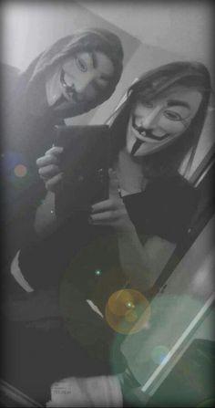 V For Vendetta Comic, Guy Fawkes Mask, Mona Lisa, Guys, Comics, Anonymous, Artwork, Skull, Couple