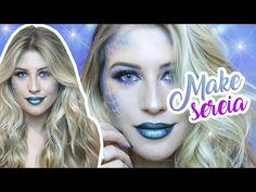 MAIS INFORMAÇÕES: Hoje é dia de tutorial de maquiagem de sereia para todo mundo arrasar no Carnaval. É bem fácil de fazer e fica lindo. http://niinasecrets.c...