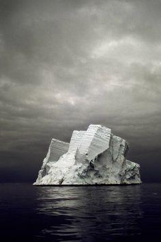 (byCamille Seaman) Icebergs are interesting symbols because they symbolize symbols