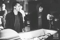 Dave Y Andy - Crown The Empire - Rise Of The Runaways - Behind The Scenes