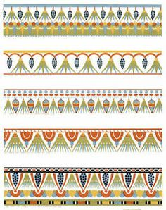 Ancient Egyptian Ornament in Full Color: 350 Patterns and Designs by Gustave Jequier, Rene Grandjean (Paperback, 2006)