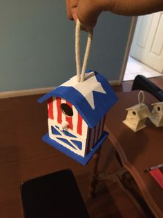 Captain America Bird House Walk Now for Autism Speaks is an inspirational and impactful opportunity to raise money and awareness to help change the future for all those who struggle with autism. Participating in Walk Now for Autism Speaks empowers you to make a difference and provides you with an opportunity to honor someone with autism. I'm painting birdhouses to sell at our light it up for liv bake sale. Please like our facebook page @ https://www.facebook.com/lightitupforliv