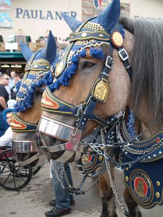 Munich Brewery Horses - like our Budweiser Clydesdales