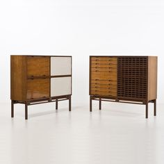 Ilmari Tapiovaara (1914-1999); cabinets, 1957 H 141 × L 160 × P 51 cm
