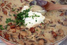 Mushroom & Tofu Stroganoff