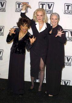 CATWOMEN on the prowl. Eartha Kitt, Julie Newmar & Lee Meriwether. All 3 played Catwoman in the Batman TV series & movie in the 60's.  (please follow minkshmink on pinterest)
