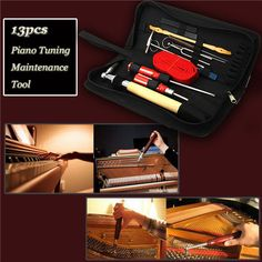 Wrench Modest Professional Piano Tuning Kit Tuner Tools Set Piano Tuning Tool Wooden Handle Fixed Tuning Wrench With Bag
