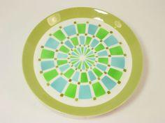 Vtg MIKASA DUPLEX Retro Mid Century Modern Ben Seibel Design Dinner Plates