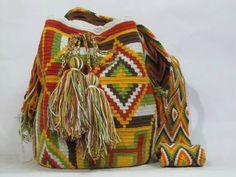 Authentic Tribal Wayuu Bag by PavanaFit on Etsy