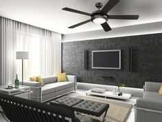 Take your interior design to another dimension with the Comet ceiling fan. With a matte black finish, integrated frosted glass light fixture, and reversible matte black/marble plywood blades, the Come