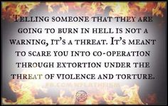 #hell #atheist #atheism