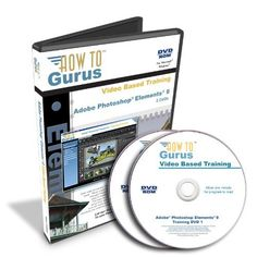 Adobe Photoshop Elements 9 Training on 2 DVDs, 16 Hours in 218 Video Lessons. Computer Software Video Tutorials How To Gurus http://www.amazon.com/dp/B004JGB122/ref=cm_sw_r_pi_dp_8jbpwb0MNKMAM