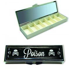 Boîte à Pilules Poison