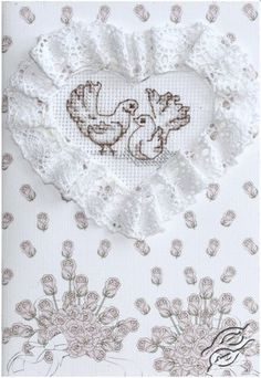 Doves - Cross Stitch Kits by Luca-S - SF006