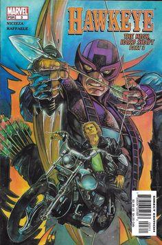 Marvel Hawkeye comic issue 3