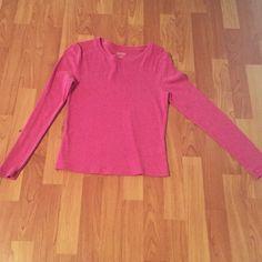 Pink long sleeve top Extra small pink long sleeve top Tops Tees - Long Sleeve
