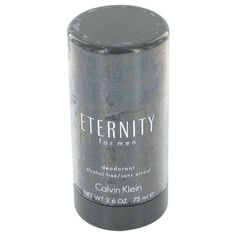 New #Fragrance #Perfume #Scent on #Sale  ETERNITY by Calvin Klein 2.6 oz / 75 ml Deodorant Stick - Calvin Klein's iconic Eternity line began with the original launch of the women's version of the scent in 1988, only to be followed the next year by this men's version of the scent.  Classified as a refreshing spicy, lavender, and amber fragrance, Eternity is a real classic of men's fragrances. This masculine scent possesses a blend of greens, crisp jasmine, sage, basil, and rosewood.. Buy now…