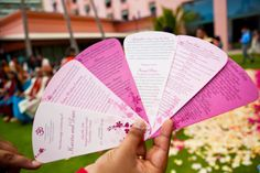 The Frosted Petticoat: program fan that explains the ceremony