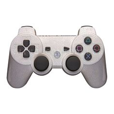 PS3 controller  Wireless Glossy  WTP712-Italian-Leather-Arctic Custom Painted- Without Mods