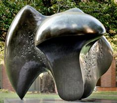 Tripartite Bronze Sculpture Number By Henry Moore. Sculpture Clay, Ceramic Art, Contemporary Modern Art, Bronze Sculpture Art, Art, Installation Design, Land Art, Abstract Sculpture, Sculpting