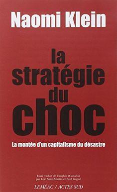 La stratégie du choc : La montée d'un capitalisme du désastre de Naomi Klein http://www.amazon.fr/dp/2742775447/ref=cm_sw_r_pi_dp_UDztwb1STH72H
