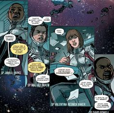 Panels from CATALYST PRIME: THE EVENT #1