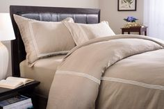 Roxbury Park Baratto Linen Duvet Set Queen PrairieIvory * Want additional info? Click on the image.