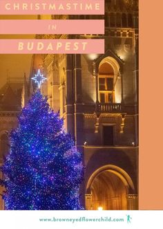 Christmastime in Budapest is absolutely magical. Discover all the best things to do in Budapest Hungary during the month of December. Christmas Travel, Holiday Travel, European Destination, European Travel, Europe Travel Guide, Travel Destinations, Travel Guides, Budapest Christmas Market, Christmas Markets