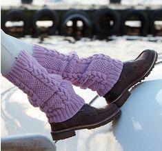 Beinstulpen, - Free obtain Diy Crochet And Knitting, Crochet Socks, Knitting Socks, Hand Knitting, Knitting Patterns, Patterned Socks, Wool Socks, Boot Cuffs, Mittens