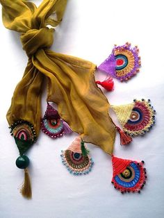 Crochet Scarf Accessories Wome |