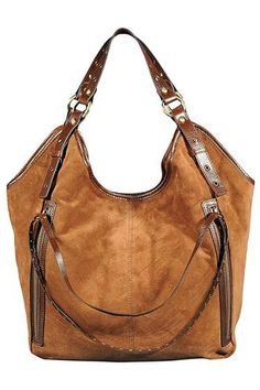 Silvio Tossi Vintage Style Leather 2 Front Pockets Tote - Enviius