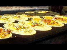 Ram Bandi,  near Mojamjahi Market Koti in #Hyderabad making Special Butter Cheese Masala #Dosa #Street #Food #India #ekPlate #ekplatedosa