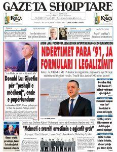 Shtypi i dites Archives - Gazeta Shqiptare Online Archive