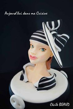 Pin up 3 - by CécileBeaud @ CakesDecor.com - cake decorating website