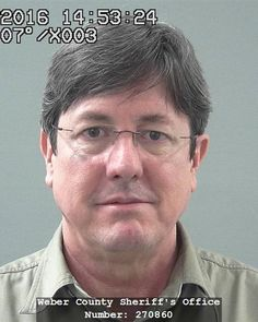 Booking photo of Lyle Jeffs, Weber County Sheriff's Office, Utah, 2016 | Photo courtesy of the FBI Salt Lake City Division; St. George News