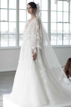 Classy Wedding Dress, Unconventional Wedding Dress, Perfect Wedding Dress, Wedding Looks, Marchesa Bridal, Couture Wedding Gowns, Couture Bridal, Perfect Bride, Bridal Headpieces