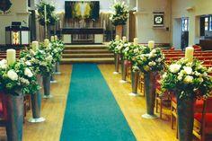 Modern Church - summer wedding