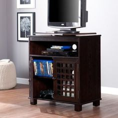 Shop for Copper Grove Tahoe Espresso Swivel Top TV Stand. Get free shipping at Overstock.com - Your Online Furniture Outlet Store! Get 5% in rewards with Club O! - 12738457