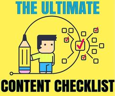 Your Complete Content Marketing Checklist