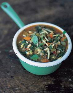 early autumn minestrone (minestrone d'inizio autunno) | Jamie Oliver | Food | Jamie Oliver (UK)