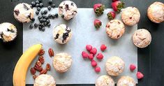 Martha Stewart - One Batter, Four Muffins Muffin Recipes, Brunch Recipes, Brunch Ideas, Baking Recipes, Yummy Recipes, Martha Stewart, Most Delicious Recipe, Toasted Pecans, Dessert For Dinner