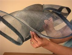 How to make wild sinamay hats by How2hats