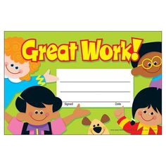 Reward progress and achievement with cheerful awards kids are proud to take home. Recognition Awards celebrate everyday accomplishments and big moments of success. Easy to customize to each occasion and child. 5 x 8 30 per pack. School Classroom, Classroom Decor, Army Service Ribbon, Star Students, Recognition Awards, Award Certificates, Happy Birthday Cakes, Children