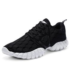 c6af829c3 Aleader Womens Lightweight Mesh Sport Running Shoes Black 9 DM US -- Check  out this great product. (This is an affiliate link)