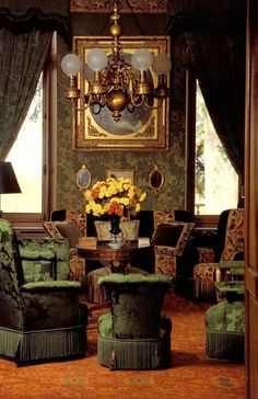 Green Room, Chateau Lafite Rothschild, France 🇫🇷