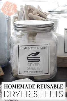 These Homemade Reusable Dryer Sheets are amazing! Choose Lavender, or any scent that suits you and save money with these DIY Dryer Sheets.  Dryer sheets are pretty standard in most houses. But what if you could make your own, with more natural ingredients and in a way that would save you...