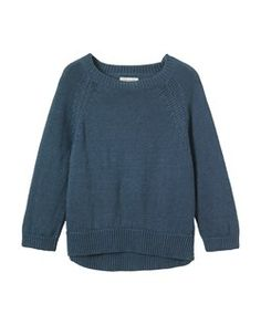 LINEN KNIT PULLOVER by TOAST