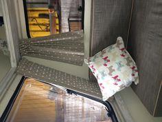 Curtains now in ! Caravan revamp