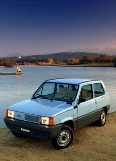 Applied Science ~ Giorgetto Giugiaro ~ Fiat Panda ~ Automobile for Fiat ~ 1980 Fiat Panda, Fiat 500c, Fiat Abarth, Auto Retro, Retro Cars, Automobile, Fiat 126, Fiat Cars, Vw Vintage